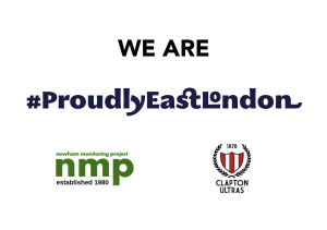 Proudly East London Sign